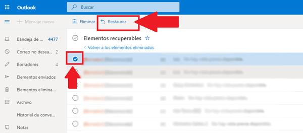 Come recuperare e-mail cancellate molto tempo fa nel tuo account Microsoft Outlook? Guida passo passo 4