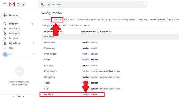 Come recuperare email cancellate molto tempo fa nel tuo account Gmail? Guida passo passo 2