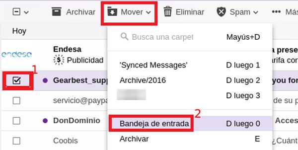Come recuperare e-mail cancellate a lungo nel tuo account Yahoo Mail? Guida passo passo 2