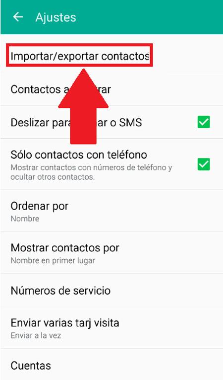 Come trasferire tutti i contatti da un telefono Android a un altro smartphone? Guida passo passo 3