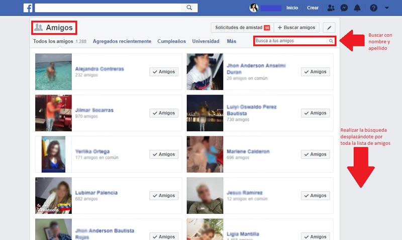 Come cercare nuovi e vecchi amici su Facebook? Guida passo passo 1