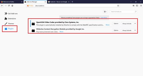 Come abilitare o disabilitare i plugin e le estensioni di Mozilla Firefox? Guida passo passo 10
