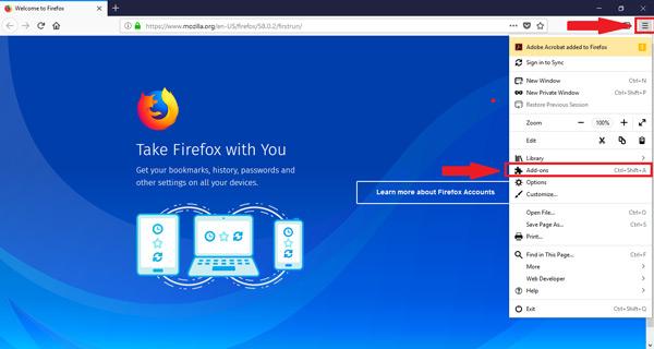 Come abilitare o disabilitare i plugin e le estensioni di Mozilla Firefox? Guida passo passo 9