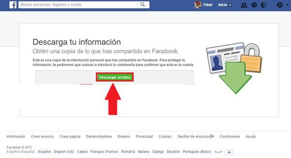 Come scaricare tutte le mie foto da Facebook? Guida passo passo 5