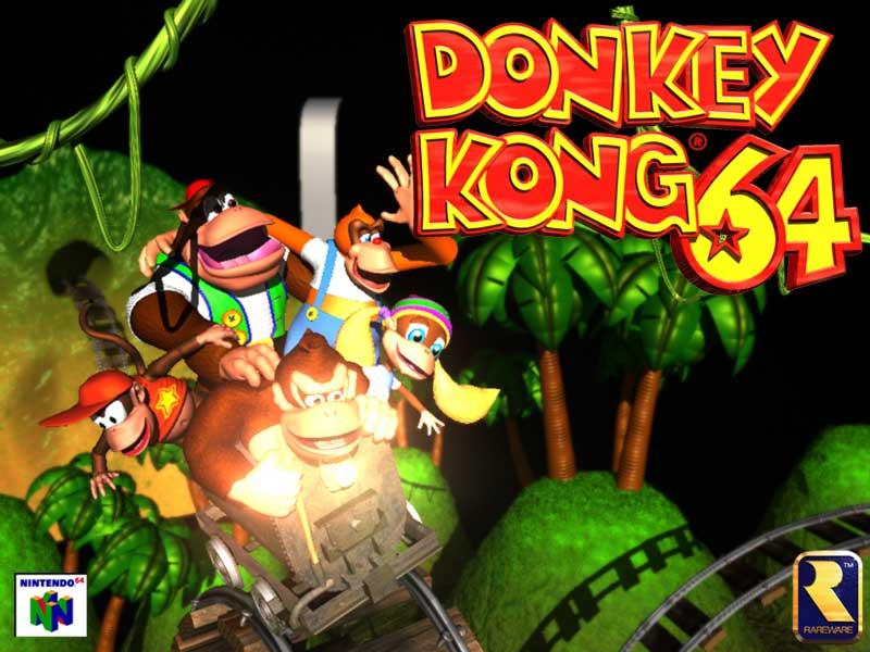Scarica Donkey Kong Nintendo 64. Un classico su qualsiasi dispositivo 1