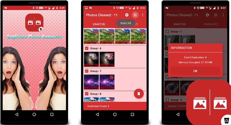 Quali sono le migliori applicazioni per cancellare tutte le tue foto duplicate su Android e iPhone? Elenco 2019 41