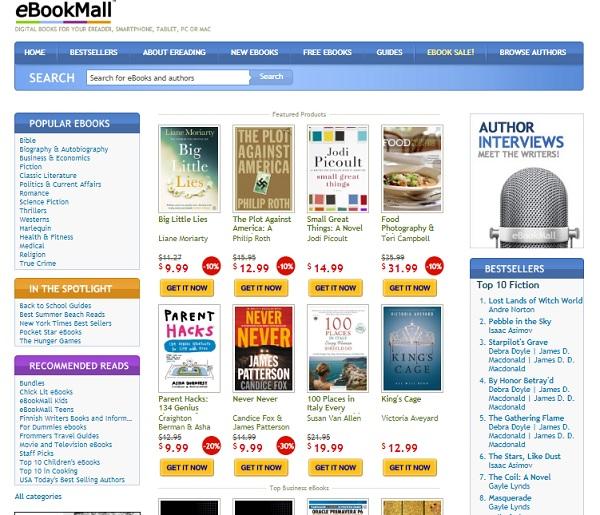 Quali sono le pagine migliori per scaricare libri digitali, ePub, eBook o PDF? Elenco 2019 30