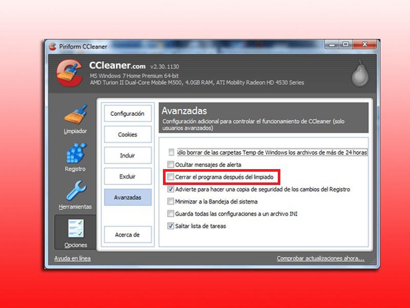 Come configurare CCleaner su Windows o Mac in modo avanzato? Guida passo passo 6