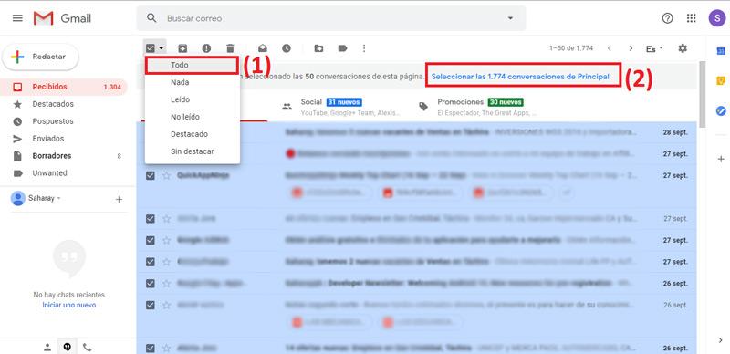 Come liberare spazio in Gmail per ricevere nuove e-mail e file nella tua casella di posta? Guida passo passo 3