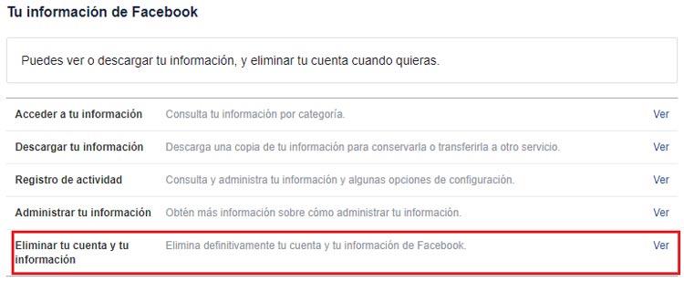 Come eliminare un account Facebook per sempre? Guida passo passo 4