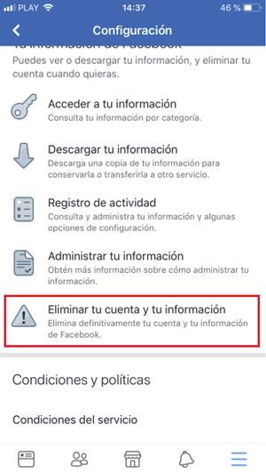 Come eliminare un account Facebook per sempre? Guida passo passo 7