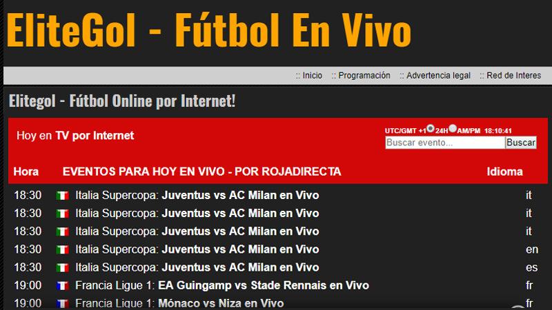RojaDirecta chiude Quali alternative per guardare il calcio online gratis sono ancora aperte? Elenco 2019 6