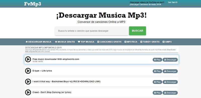 Quali sono i migliori siti Web per scaricare musica MP3 direttamente e gratuitamente? Elenco 2019 14