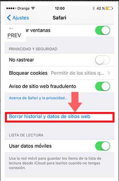 Come eliminare i cookie memorizzati in qualsiasi browser su iPhone? Guida passo passo 2