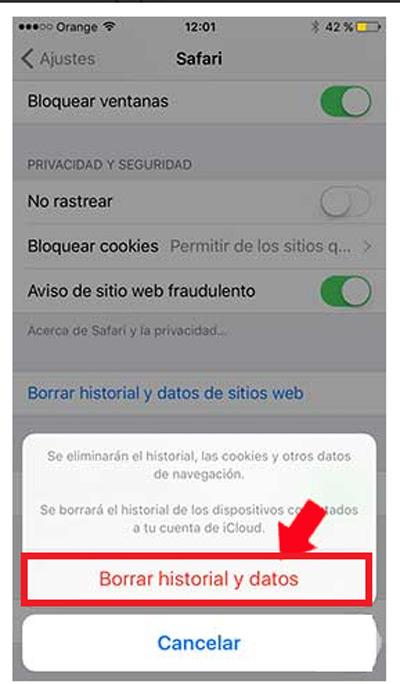 Come eliminare i cookie memorizzati in qualsiasi browser su iPhone? Guida passo passo 3