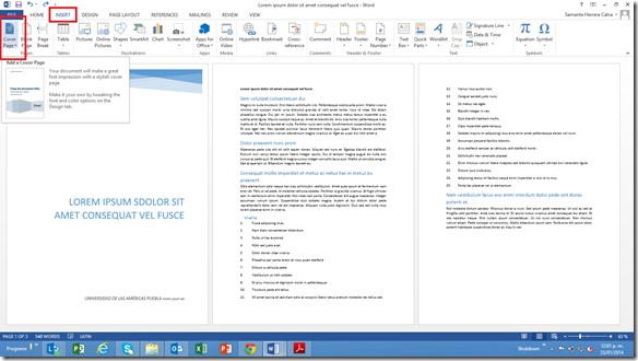 Come creare un indice in Microsoft Word 2013? Guida passo passo 4