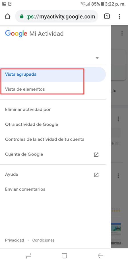 Cronologia di navigazione di Google Come visualizzare, configurare, eliminare e scaricare tutto? 10