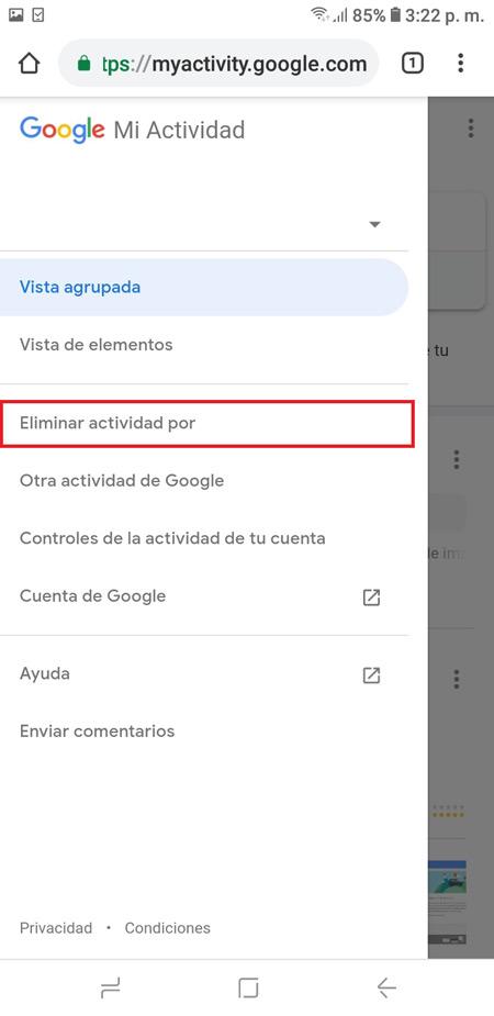 Cronologia di navigazione di Google Come visualizzare, configurare, eliminare e scaricare tutto? 11