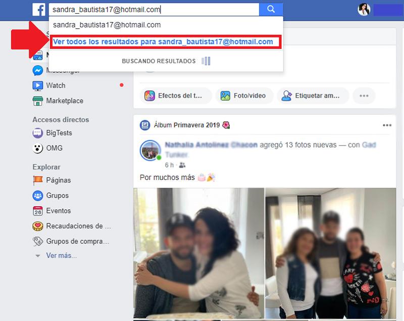 Come cercare nuovi e vecchi amici su Facebook? Guida passo passo 3