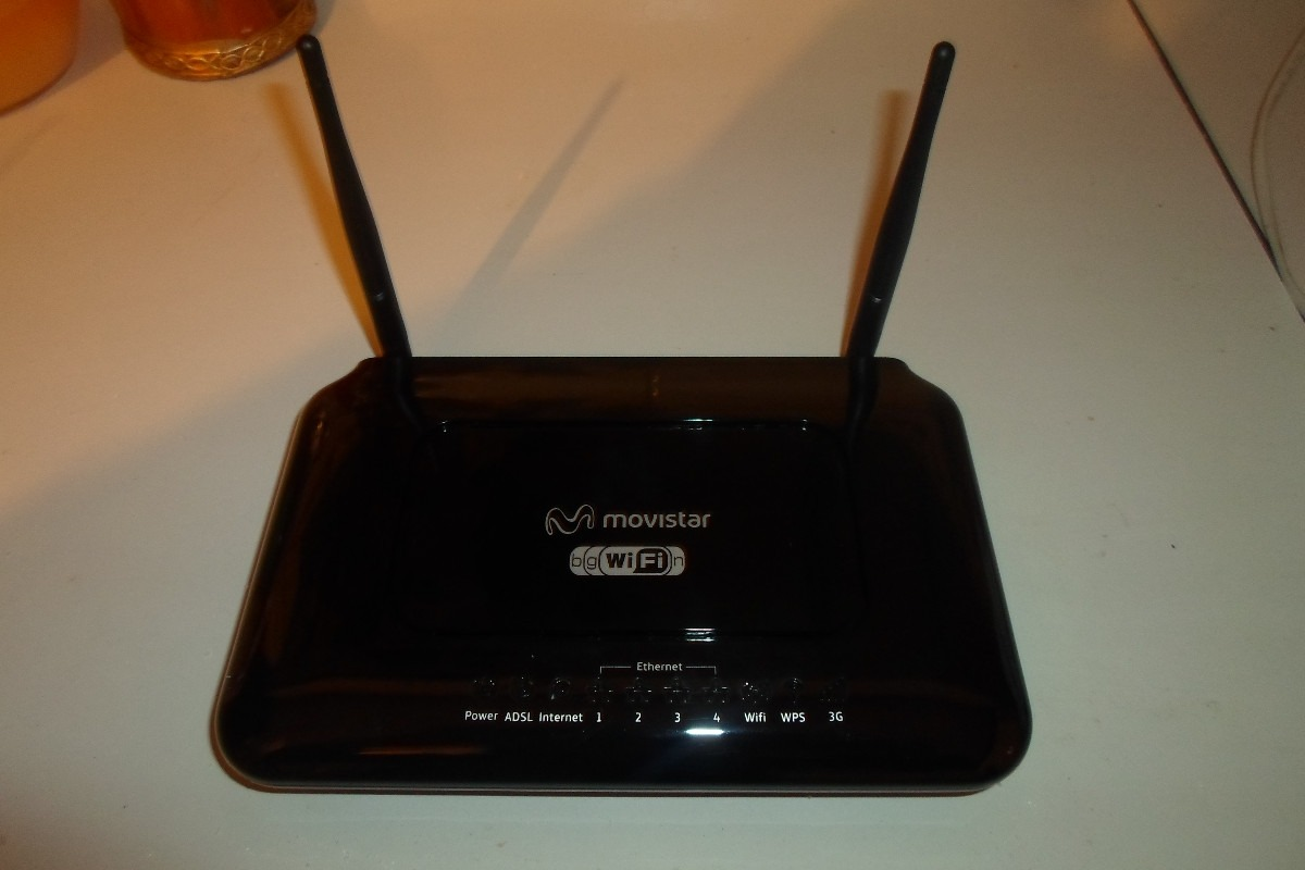 Come accedere al router Movistar Chile 1