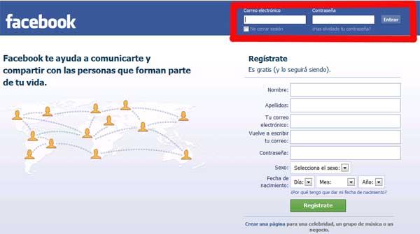Come accedere facilmente a Facebook 1