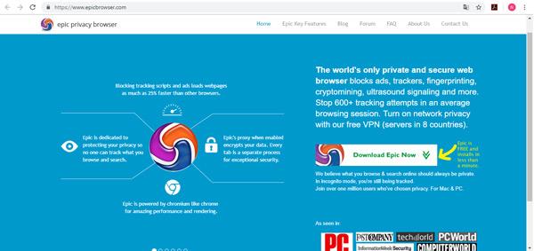 Quali sono i migliori browser Internet privati e più sicuri? Elenco 2019 2