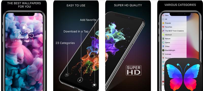 Quali sono le migliori applicazioni per utilizzare sfondi animati sul tuo dispositivo mobile Android e iOS? Elenco 2019 13