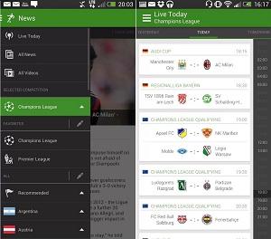Quali sono le migliori applicazioni per guardare il calcio su Android gratuitamente e senza tagli? Elenco 2019 9