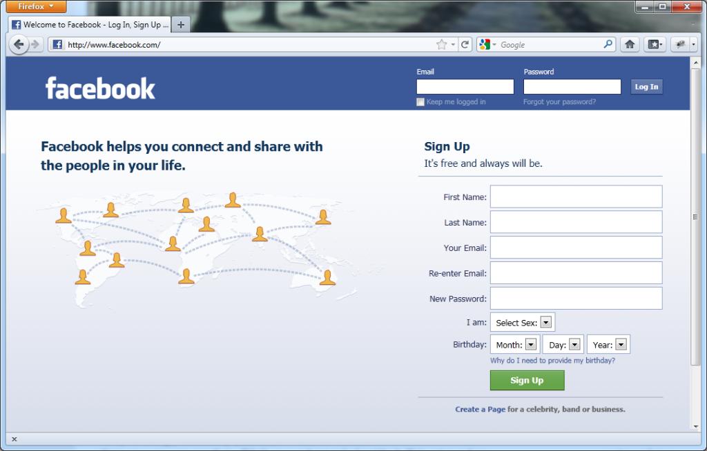 Come accedere facilmente a Facebook 3
