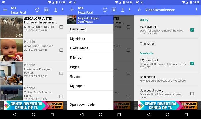 Come salvare i video di Facebook su Android? 1