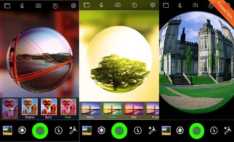Come scattare foto con l'effetto fisheye su Android? 2