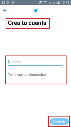 Come creare un account Twitter gratuito in spagnolo facile e veloce? Guida passo passo 9