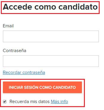 Come accedere a Infojobs in spagnolo facilmente e rapidamente? Guida passo passo 3