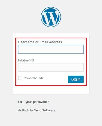 Come accedere a WordPress per modificare il tuo blog? Guida passo passo 4