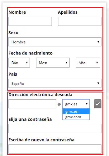 Come creare un account di posta elettronica GMX Mail gratuito? Guida passo passo 2
