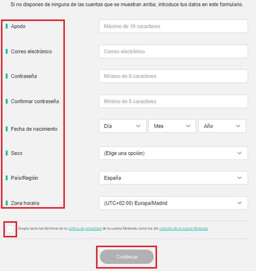 Come creare un account su Nintendo Network ID in modo facile e veloce? Guida passo passo 2