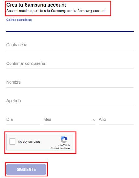 Come creare un account nelle app Samsung? Guida passo passo 3