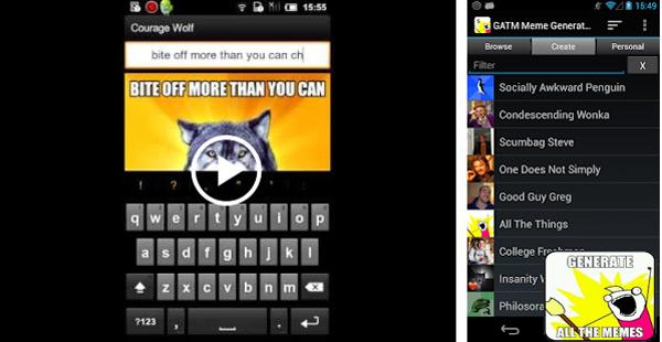 Quali sono le migliori applicazioni per creare meme con foto su Android e iOS? Elenco 2019 15