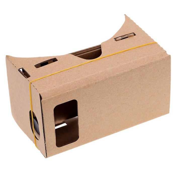 Come realizzare occhiali VR fatti in casa con cartone e lenti d'ingrandimento? 1