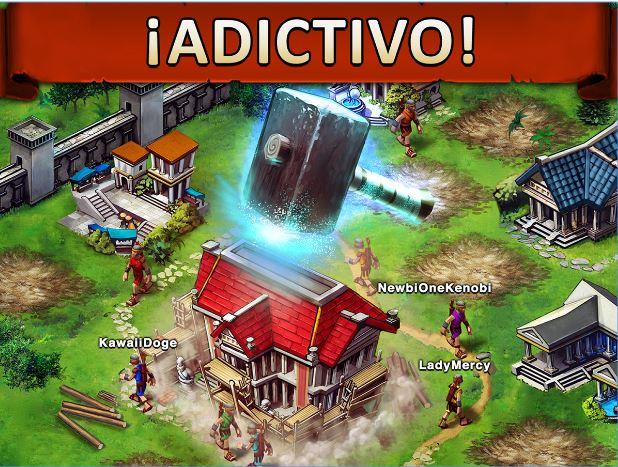Scarica Game of War per Samsung. Parità di azione e strategia 2