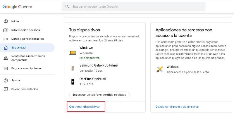 Come rimuovere tutti i dispositivi Android dal tuo account Google? Guida passo passo 3