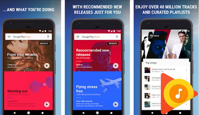 Quali sono i migliori lettori di musica gratuiti senza pubblicità per Android? Elenco 2019 1