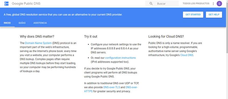 Quali sono i migliori server DNS gratuiti e pubblici da utilizzare sul nostro computer? Elenco 2019 5