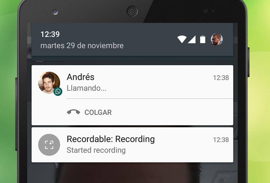 Applicazione per registrare le chiamate WhatsApp 1