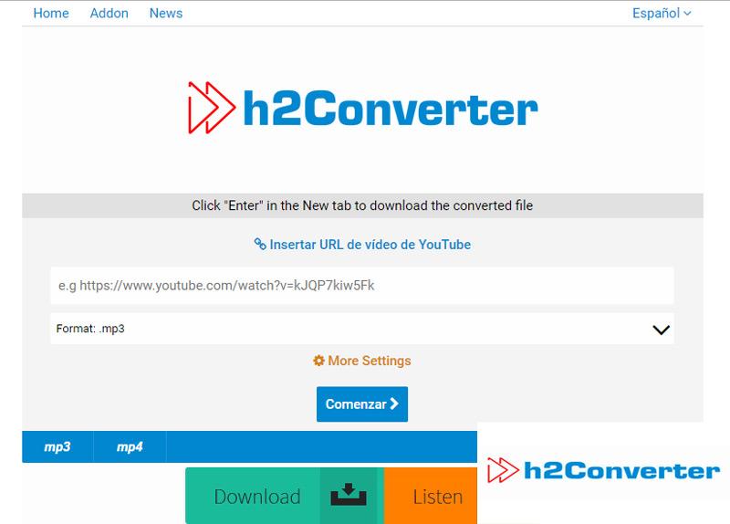 Quali sono i migliori convertitori video di YouTube in formato MP3 e MP4 gratuitamente? Elenco 2019 6