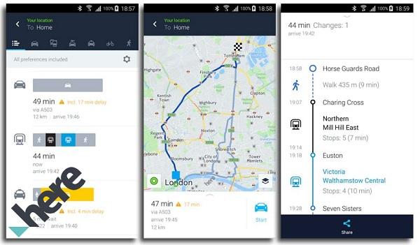 Quali sono le migliori alternative a Google Maps gratuite e a pagamento? Elenco 2019 6