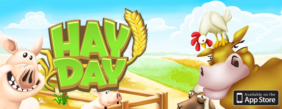 Scarica Hay Day per iOS. Un gioco emozionante per la fattoria 1