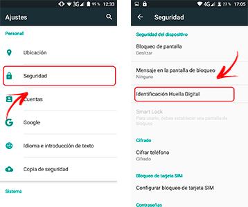 Come bloccare e sbloccare il mio telefono cellulare con l'impronta digitale? Guida passo passo 1