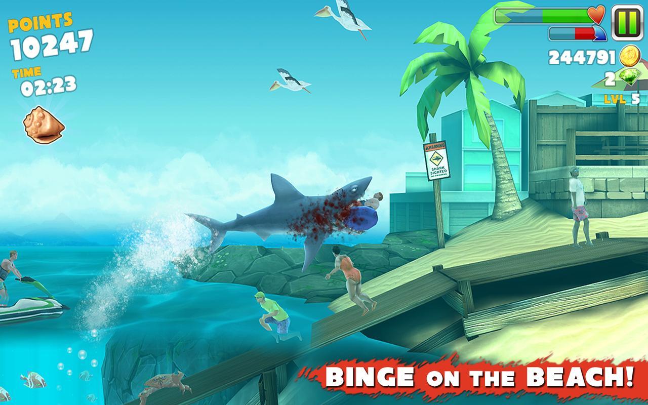 I migliori trucchi per Hungry Shark Evolution per Windows Phone 2