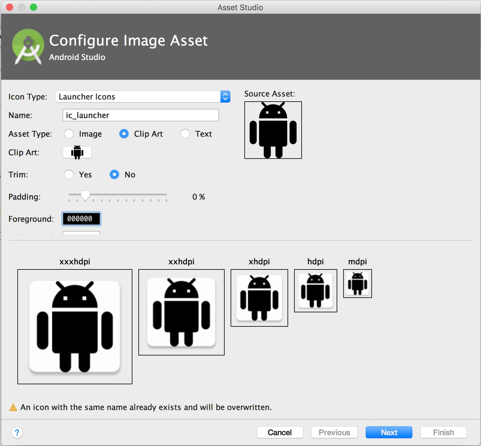 Image Asset Studio per Android: crea le tue icone per le app 1